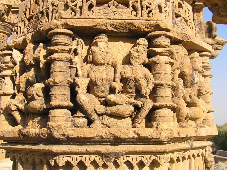 sandstone figures
