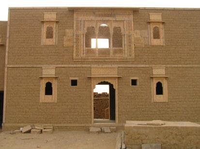 renovated facade of a house