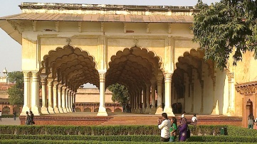 Arched court for public