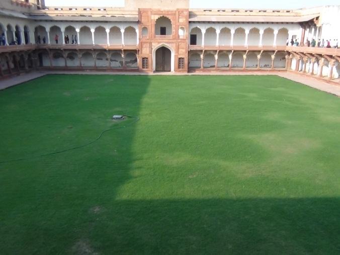 Meena Bazaar courtyard with covered galleries