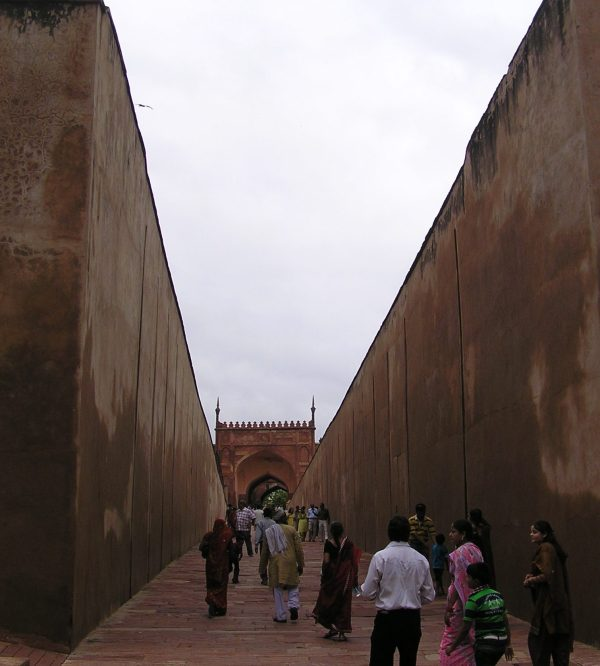 Pathway leading to inner gate of Fort