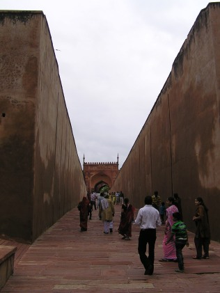 one of the entrance to the fort