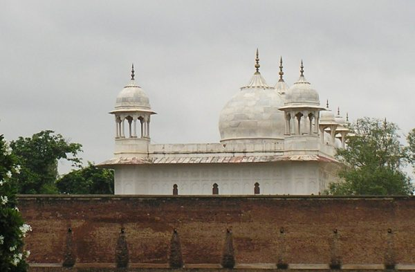 White Marble Moti Masjid