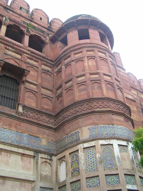 Amar Singh Gate with blue Persian tiles