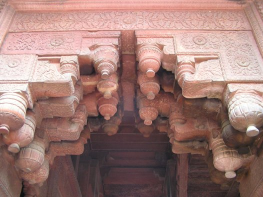 Agra Fort: Multiple Brackets