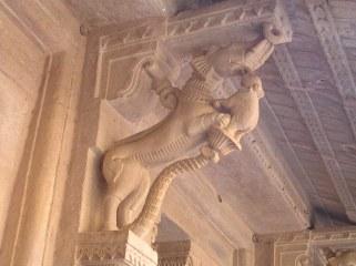 Gwalior Fort: Elephant Bracket
