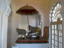 Howdah (seat on elephant back)