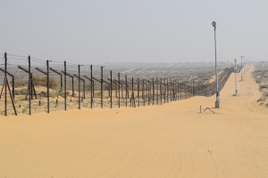 Fence at Indo-Pak Border