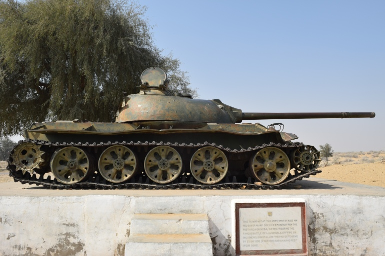 Captured Pakistani Tank
