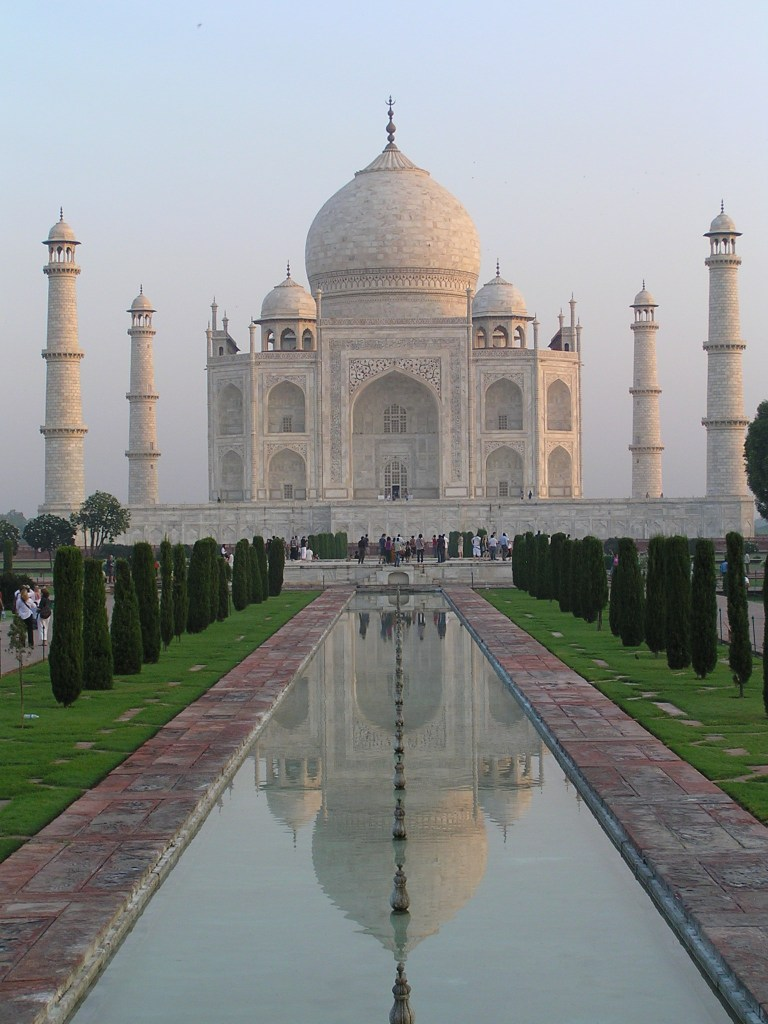 The TAJ MAHAL....symbol of love