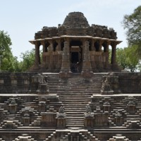 The Fire Altar : Sun Temple at Modhera, Gujrat