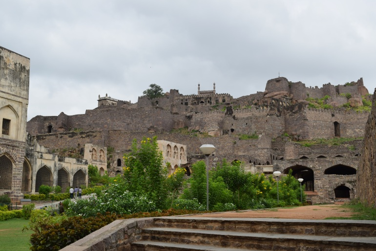 Fort from the Bala Hissar gate