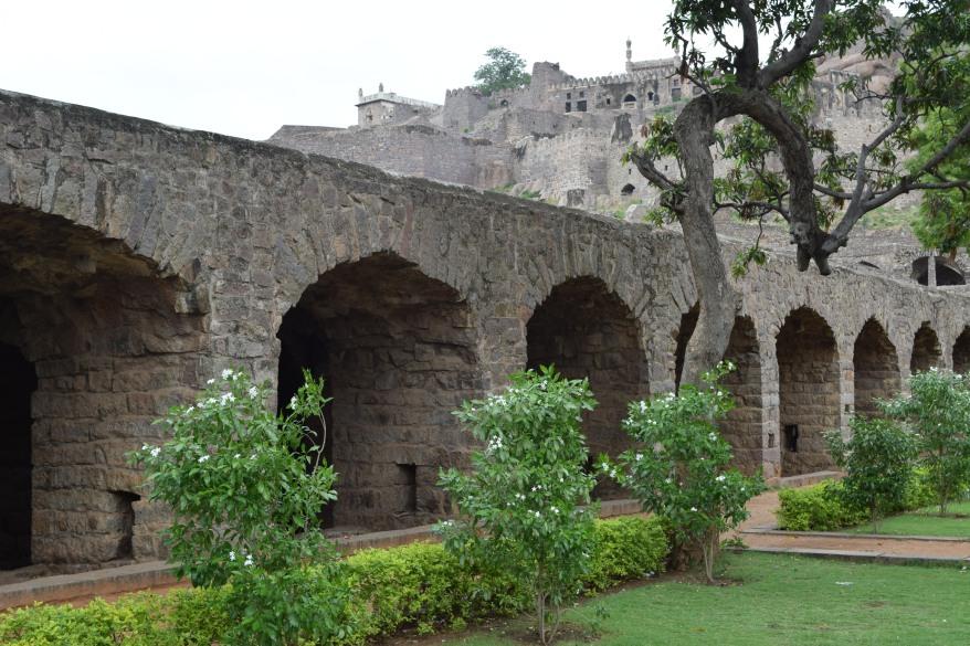 Arches near Nagina Bagh