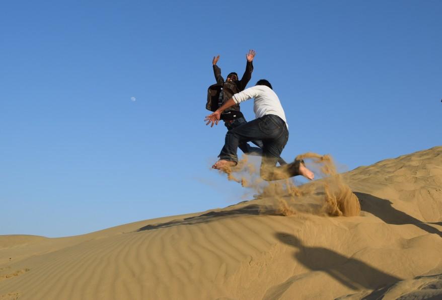Dune bashing?