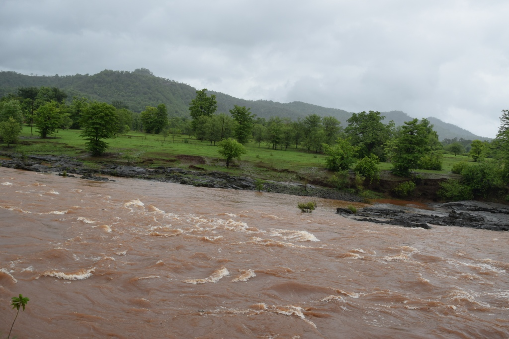 Gurgling river