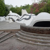 Modern Art in a Cave: Amdavad ni Gufa