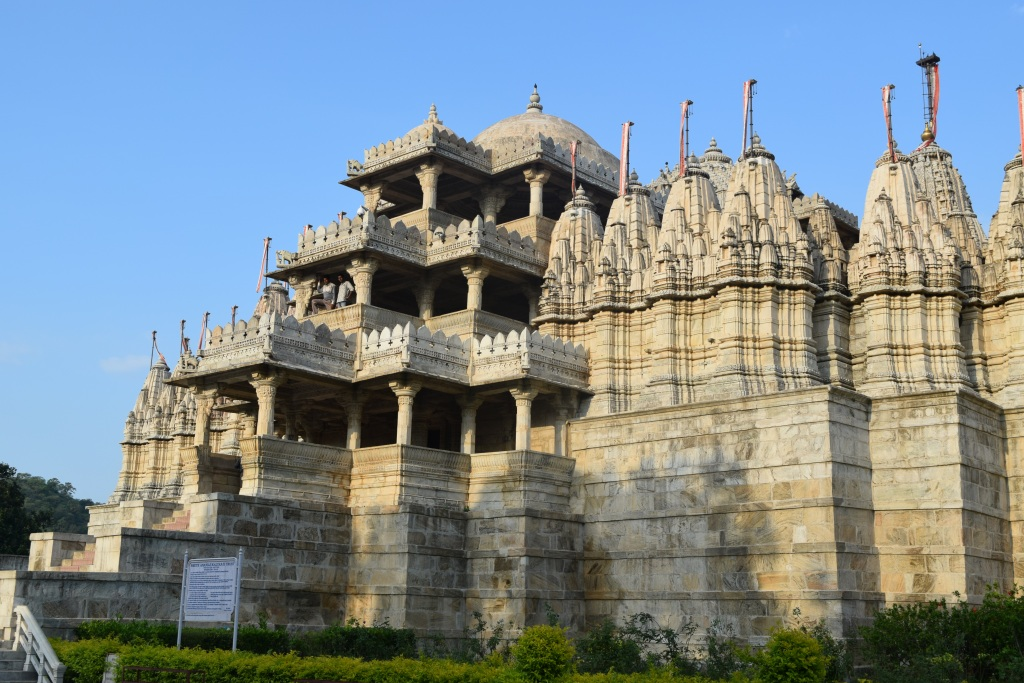 Jain temple side view