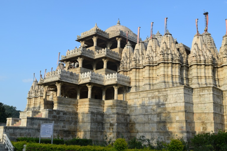Jain temple side view
