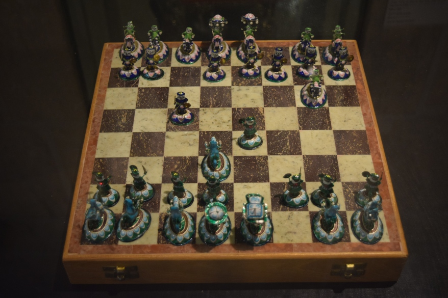 Precious stone Chess Pieces