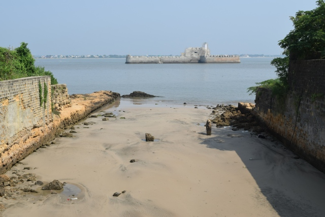 Panikotha or Fortim-do-Mar from the moat side of the fort