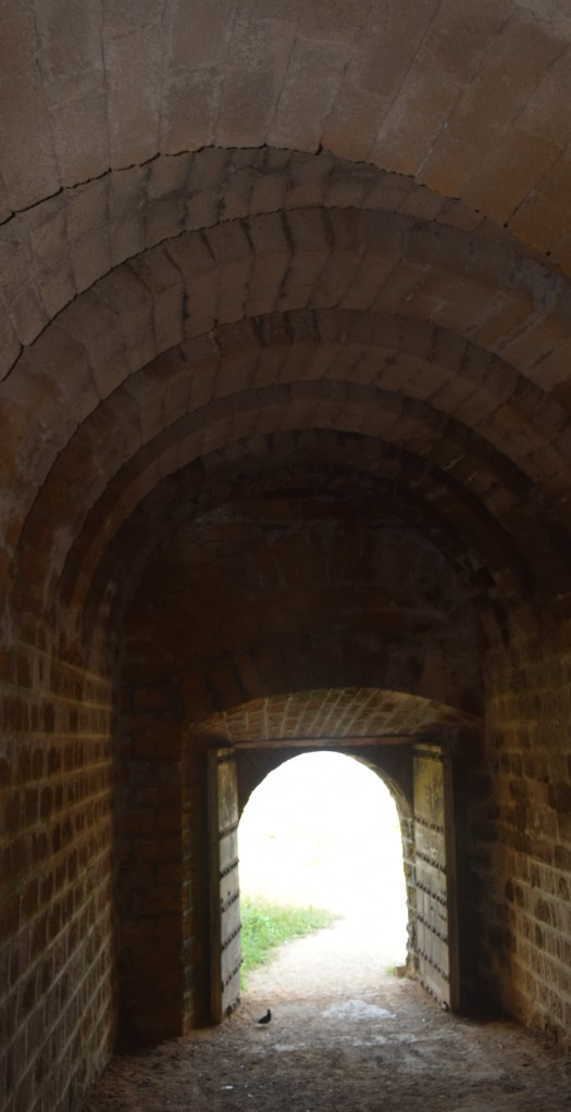Brick vaulted passage