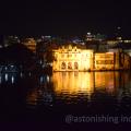 Ghats at Lake Pichola atnight