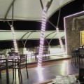 The breezy and peaceful Roof-topRestaurant