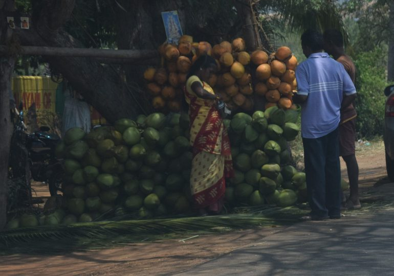 Tender Coconut in heaps