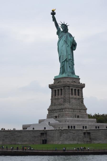 Green Lady..Statue of Liberty
