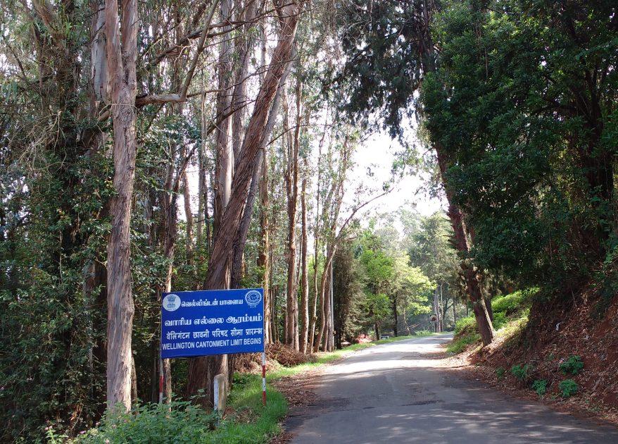 Road to Wellington Railway Station
