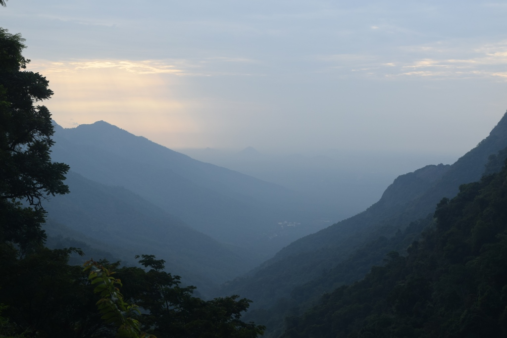 Atop these mountains I dream to go...where heavens descend and happiness does glow!