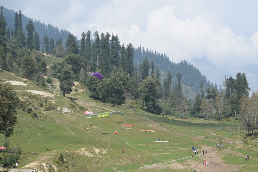 Slopes of Solang valley