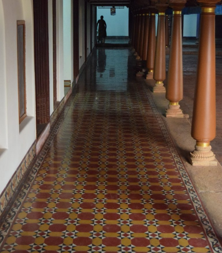 Athanagudi Palace Tiles