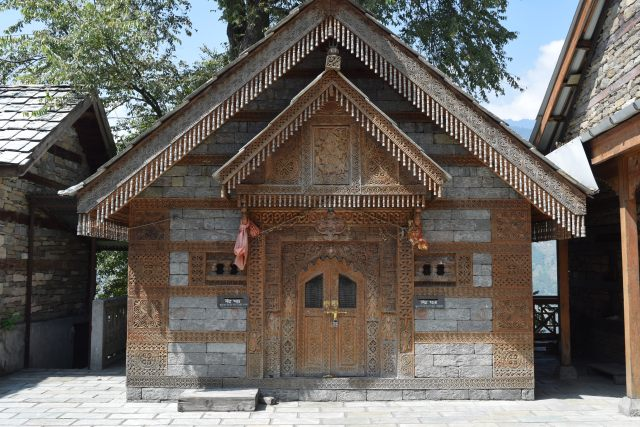 Jagatipatt Temple in palace complex