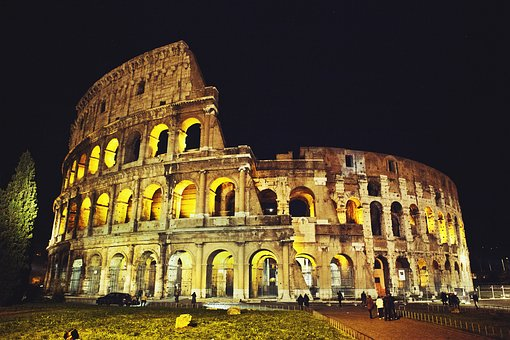 The colosseum, Pic courtesy Free images Pixaby.com