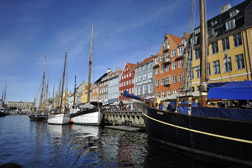 Copenhagen canal, Pic courtesy Free images Pixaby.com