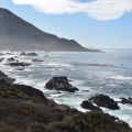 Along the pacific
