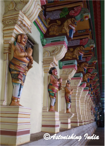 The door attendants or Dwarpalas of Gods and Goddesses