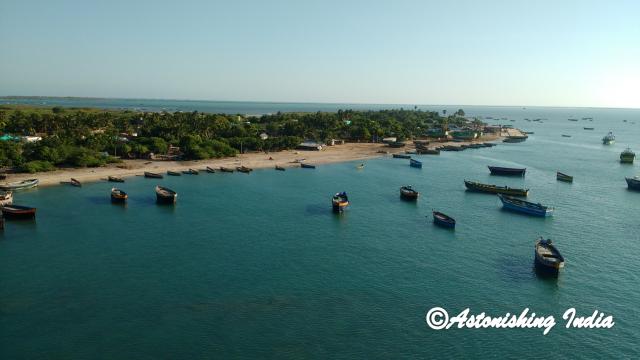 A part of Pamban Island