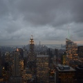 Lit up New York from RockefellerCentre