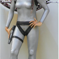 Lara Croft mannequin