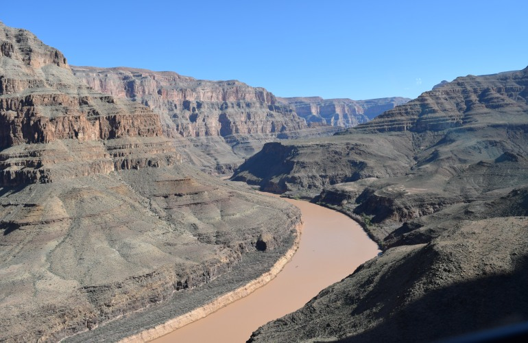 River Colorado Flowing through Grand Canyon