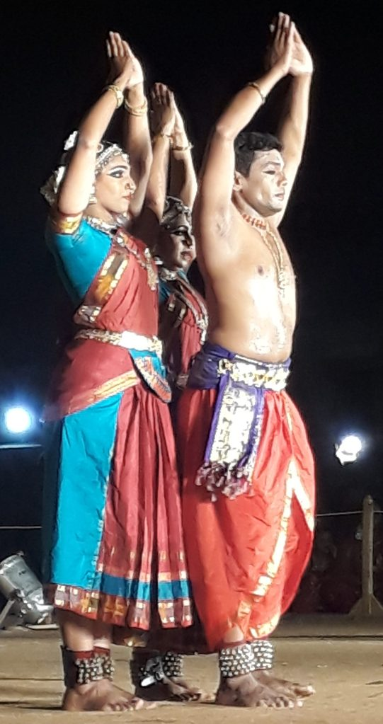 Dance performance at Brahannatyanjali