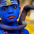 Behrupiya (lord Shiva), Chitrakoot ghats, Uttar Pradesh, India. (Photo by: IndiaPictures/UIG via Getty Images)