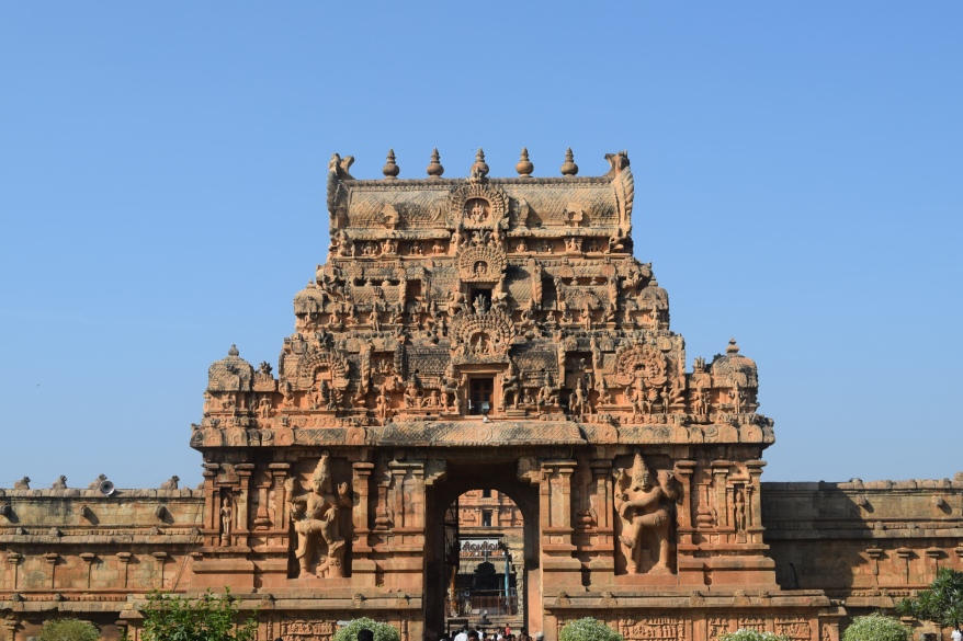 The inner gate with huge dwarpalas