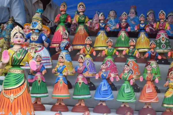 Dancing Clay Dolls