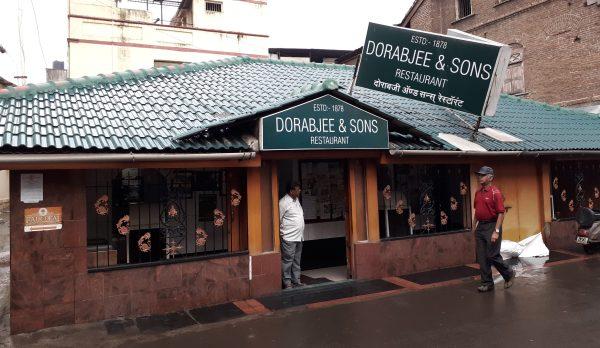 140 year old Parsi restaurant