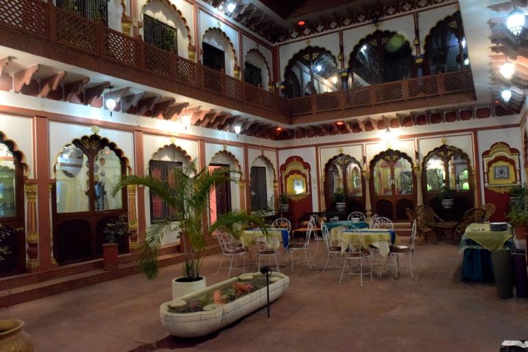 Shikwa Haveli's Verandah