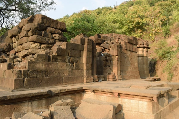 Ruins of temple