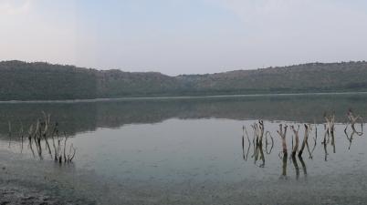 Lonar crater Lake